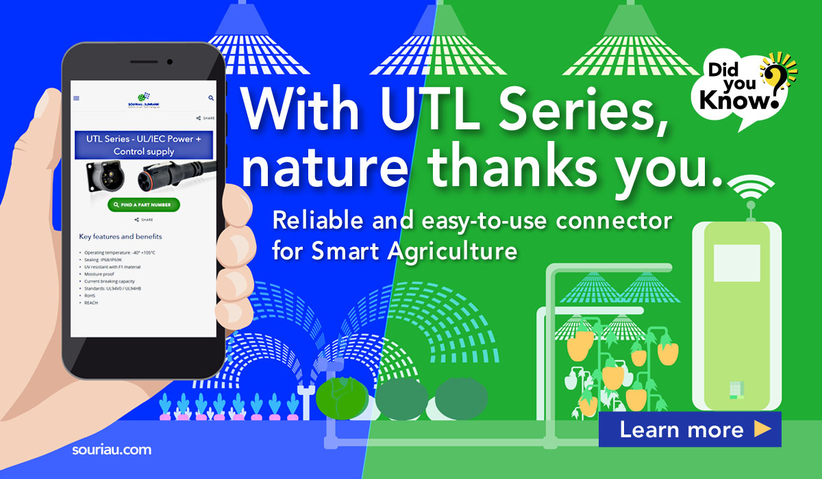 UTL Connectors for Smart Agriculture